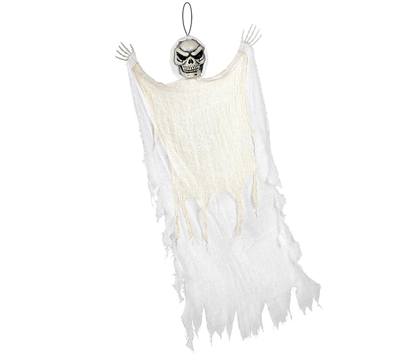 Large White Reaper Hanging Prop Decoration Fabric & Plastic NEW DESIGN