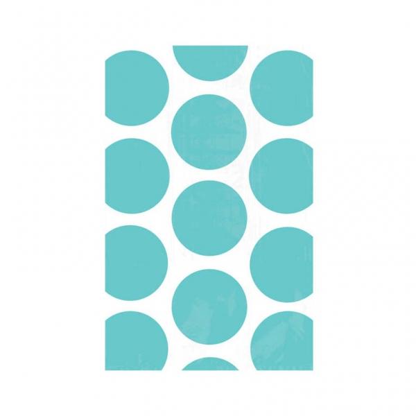 Paper Bag Polka Dot Robin's Egg Blue