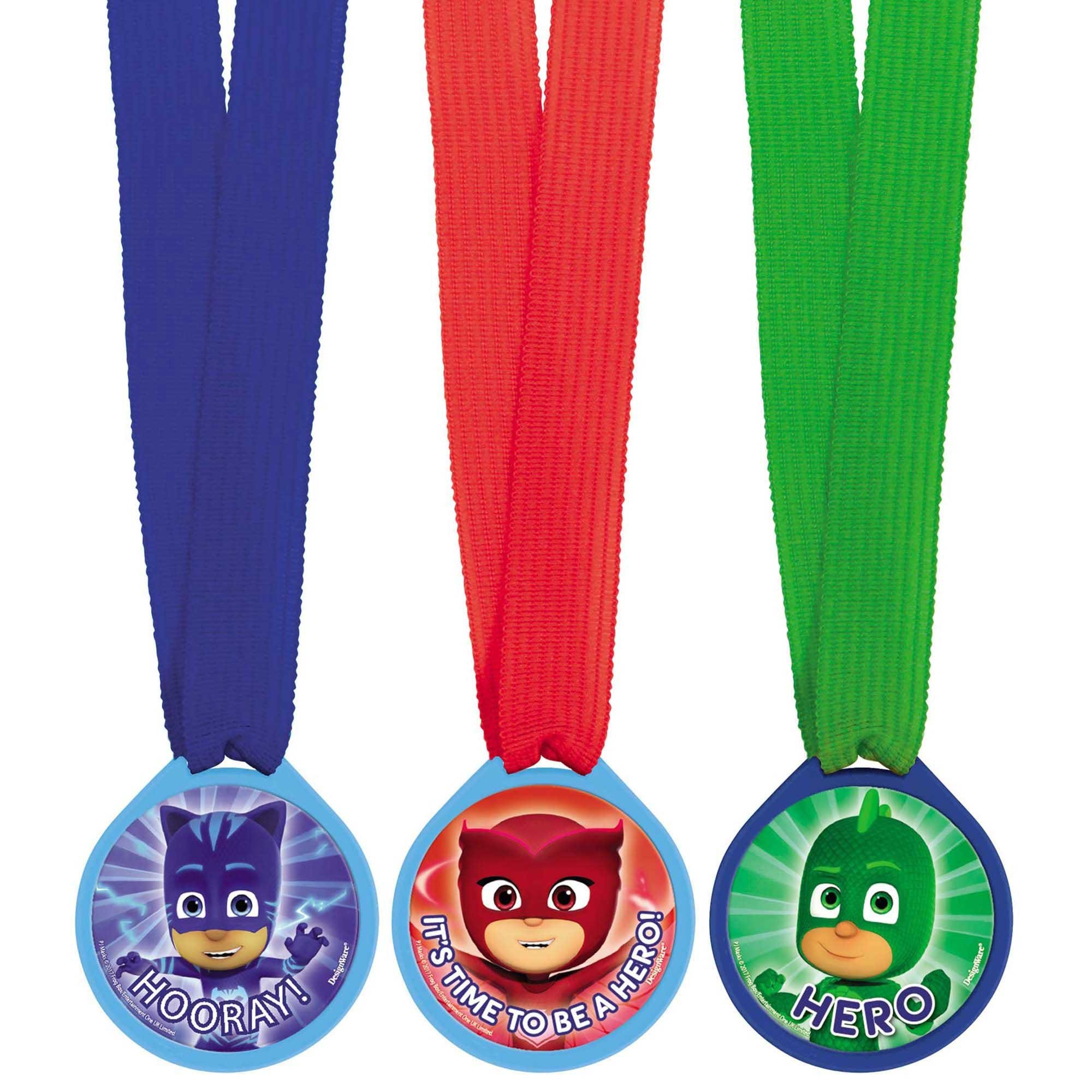 PJ Masks Mini Award Medals Favor