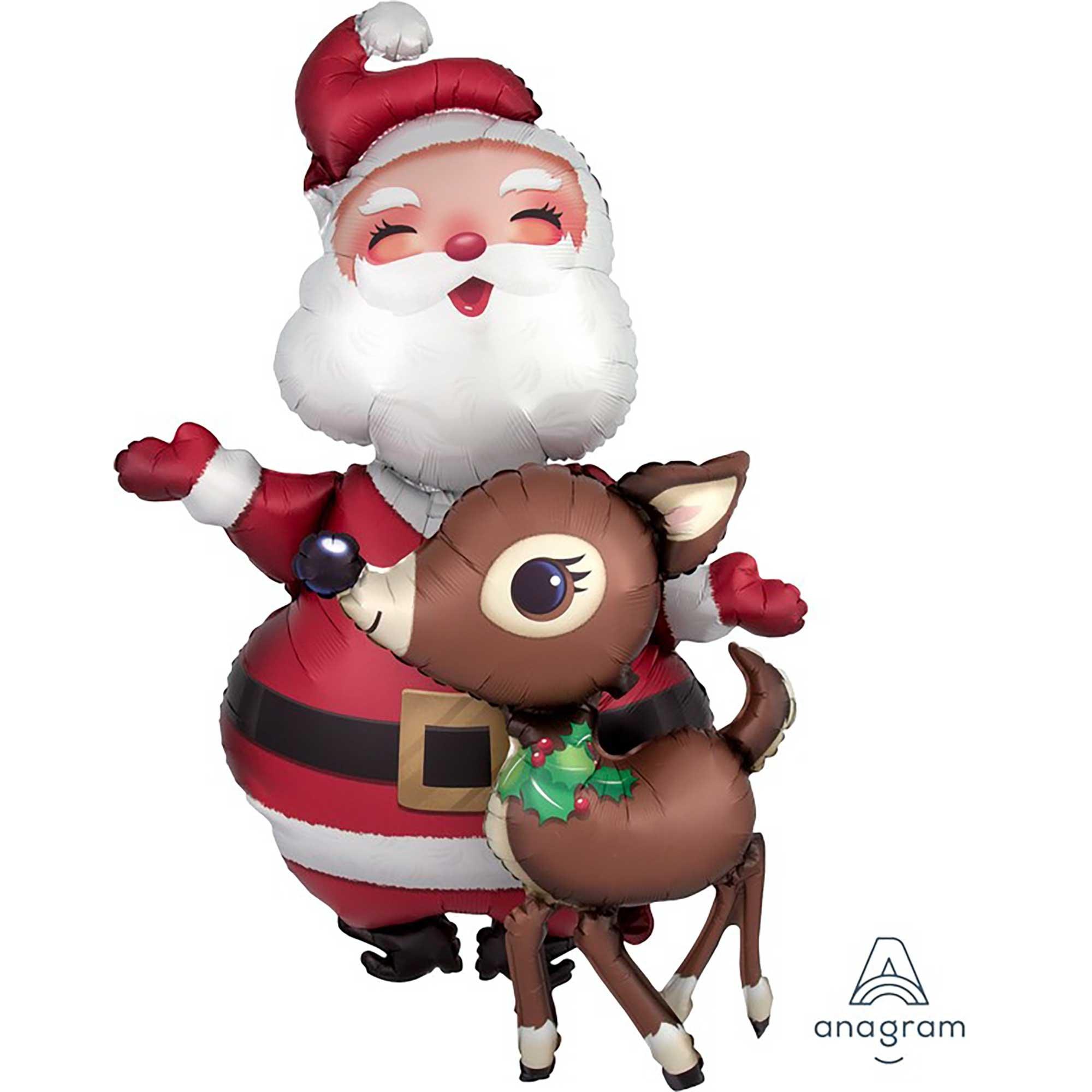 AirWalker Santa & Reindeer P93