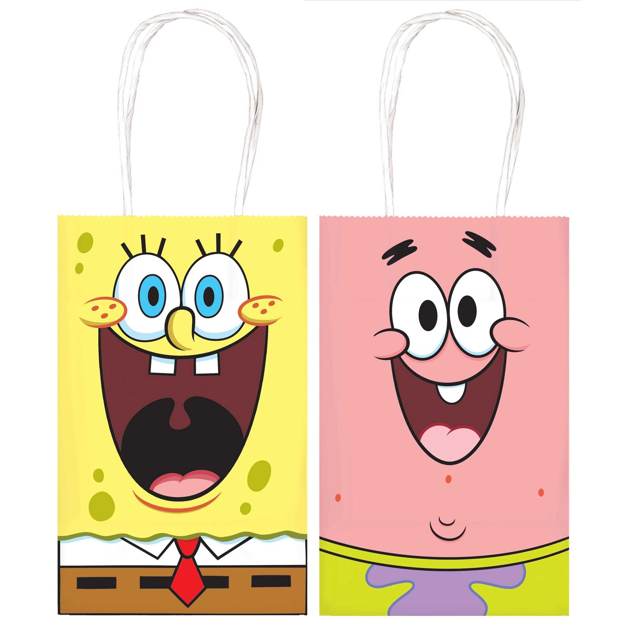 SpongeBob Paper Kraft Bags