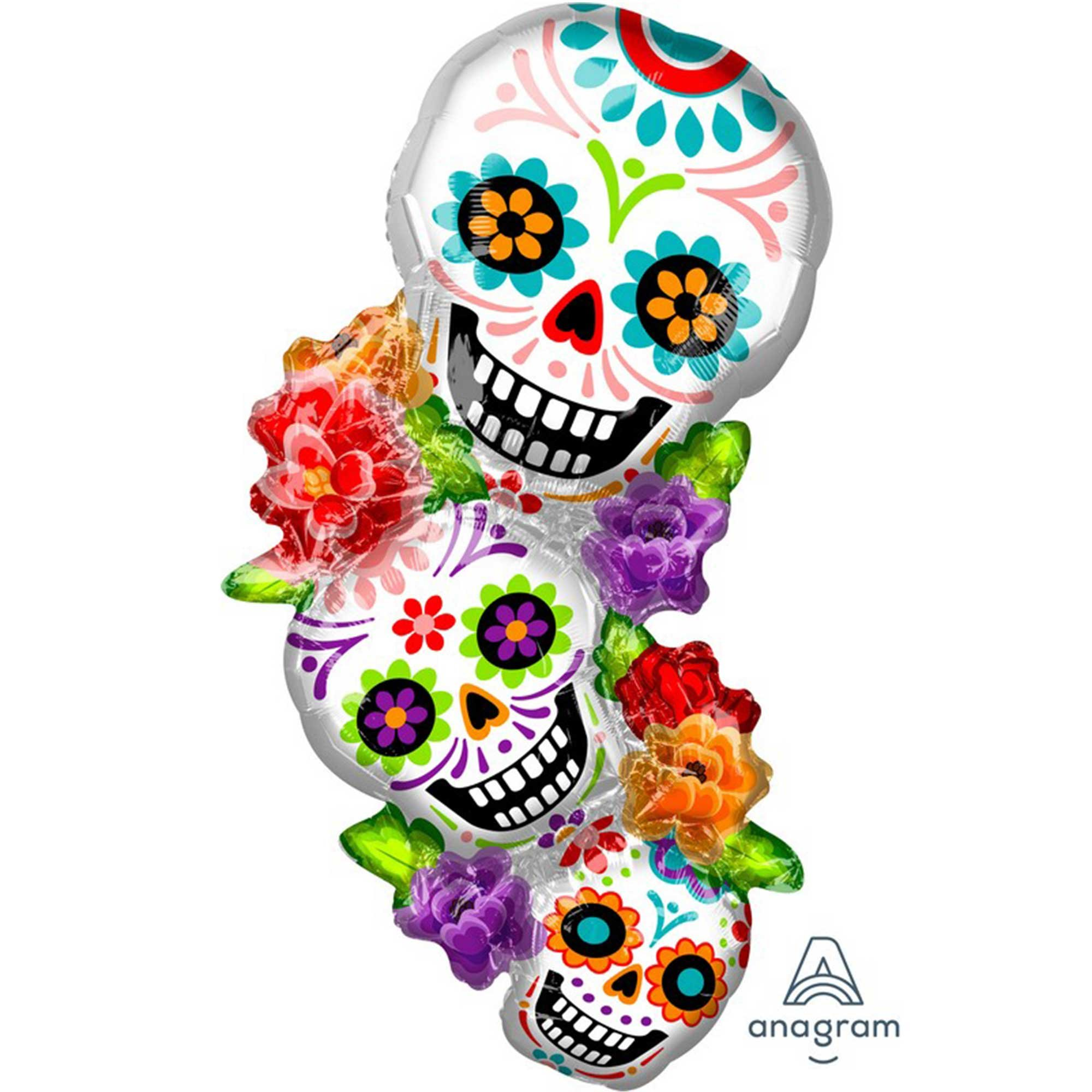 SuperShape XL Day of the Dead Stacking Sugar Skulls P35