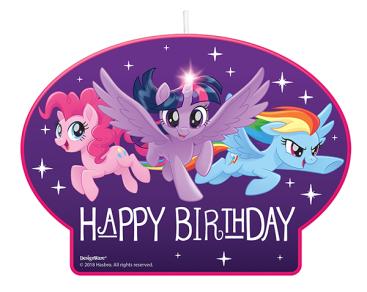 My Little Pony Friendship Adventures Birthday Candle