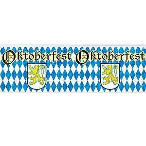 Oktoberfest Metallic Fringe Banner