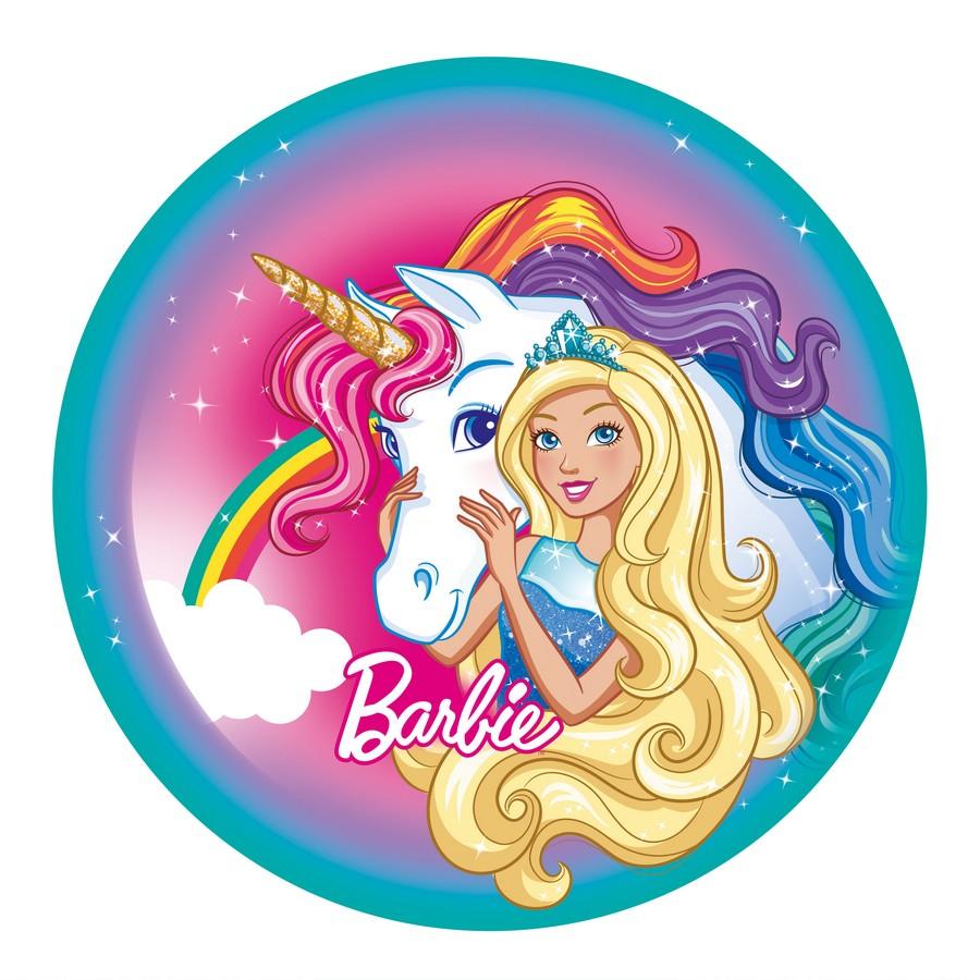 Barbie Dreamtopia 23cm Round Plates