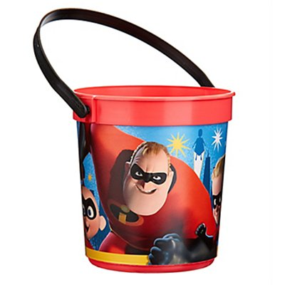 Incredibles 2 Plastic Favor Container
