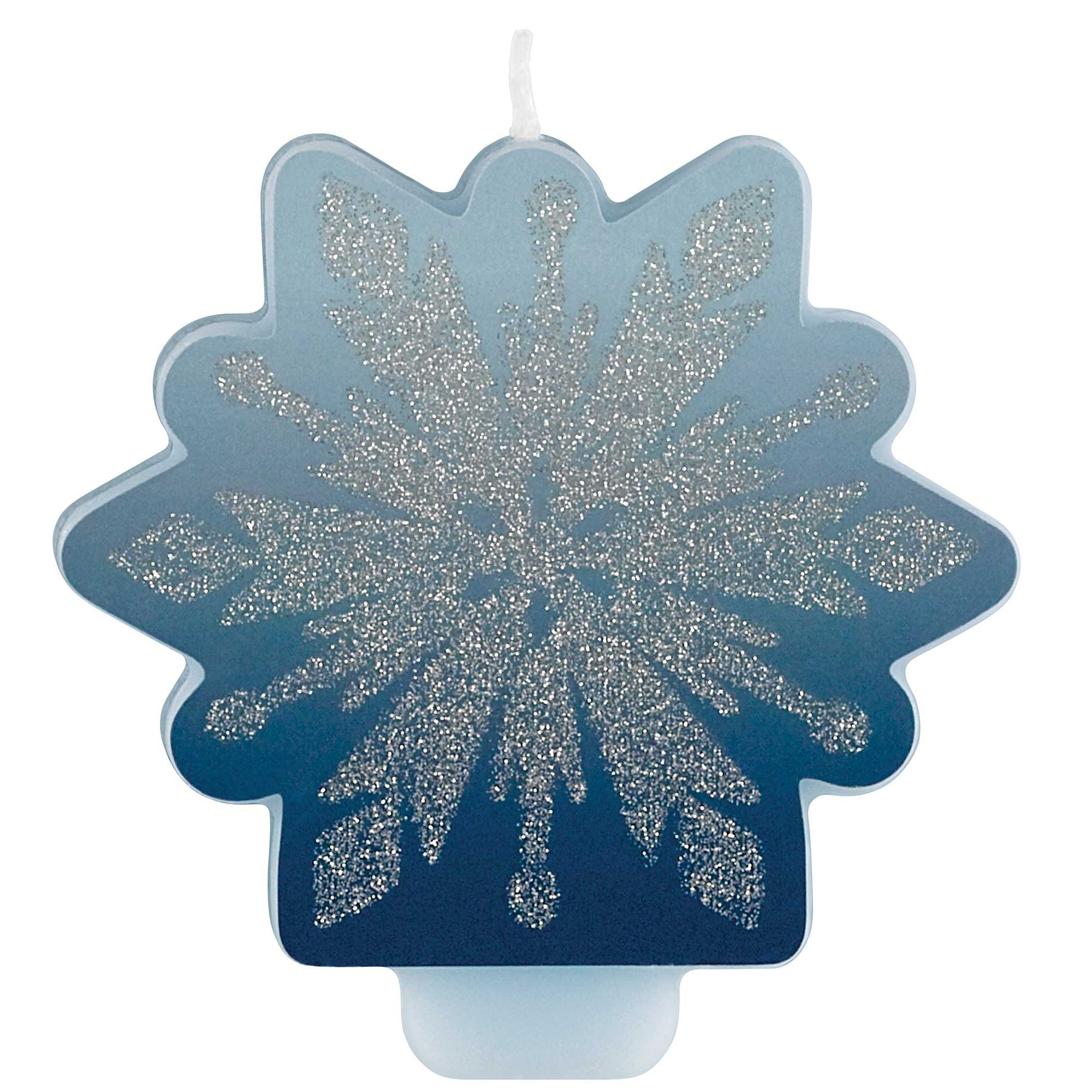 Frozen 2 Glittered Candle