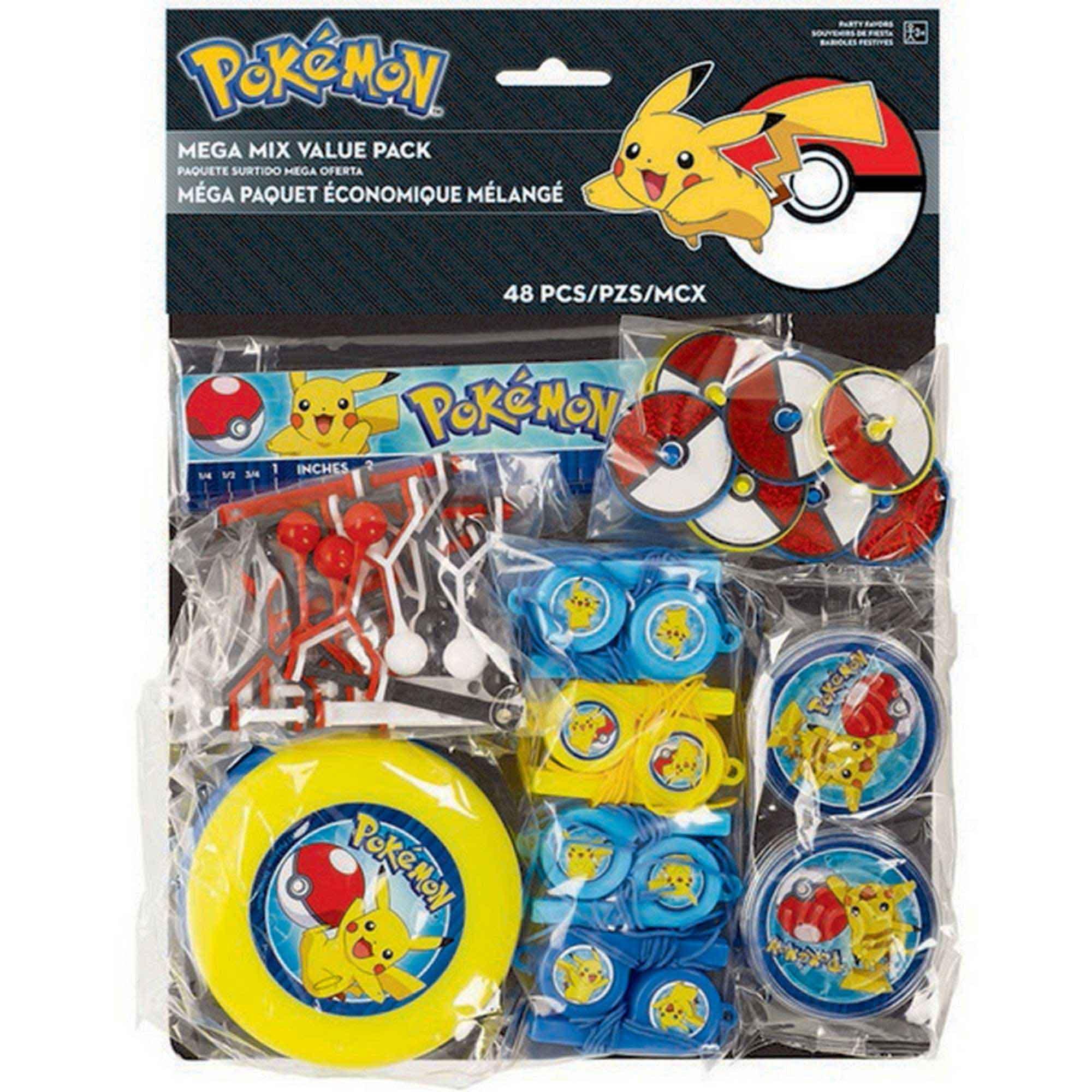 Pokemon Core Mega Mix Value Pack Favors