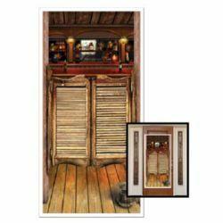 Western Saloon Door Cover