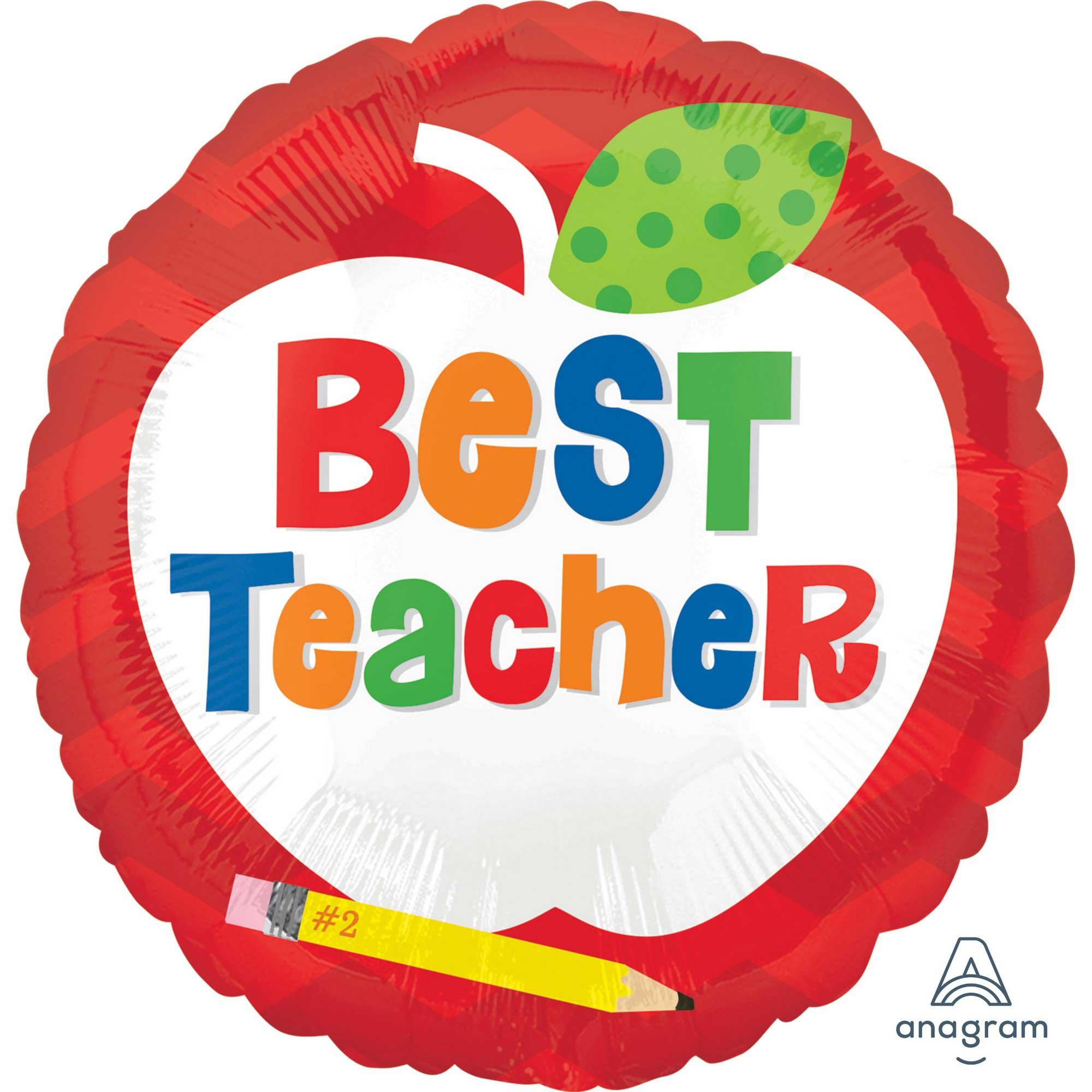 45cm Standard Best Teacher Apple S40