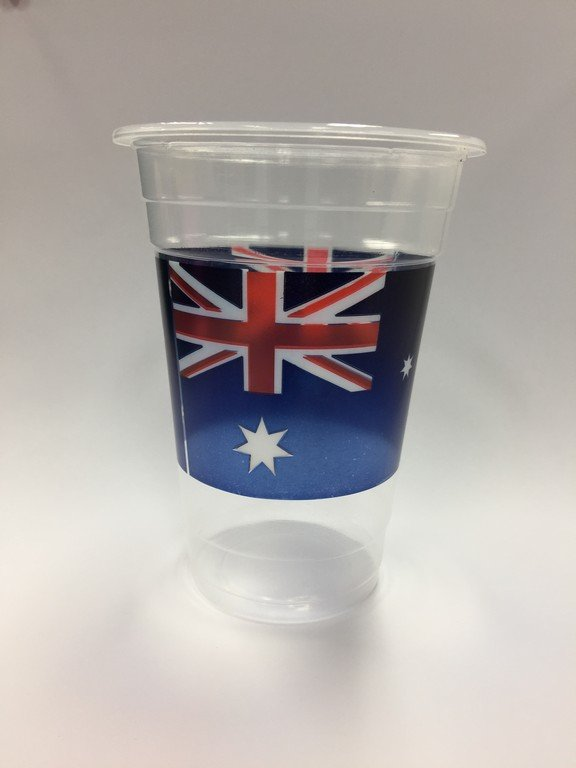 Australia 16oz / 473ml Plastic Cups