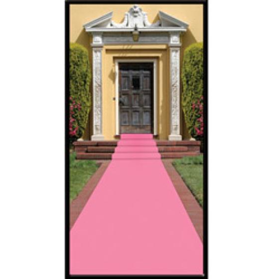 Pink Carpet Floor Runner