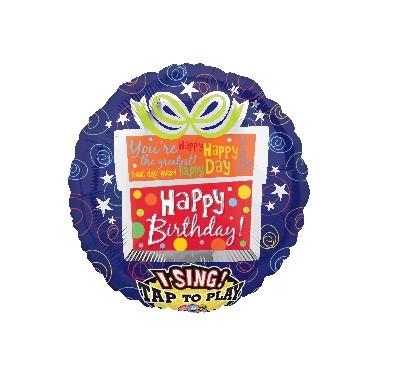 Sing-A-Tune  XL  Jumbo Happy Birthday Present P60