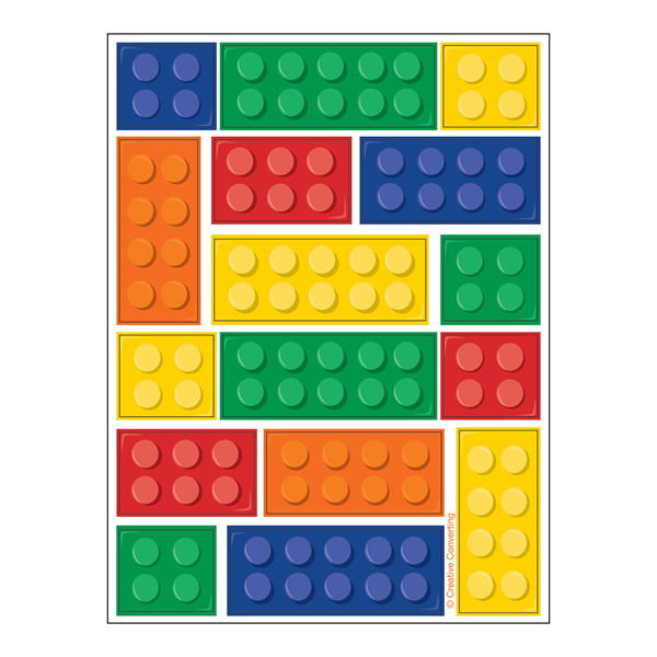 Block Party Stickers Sheets