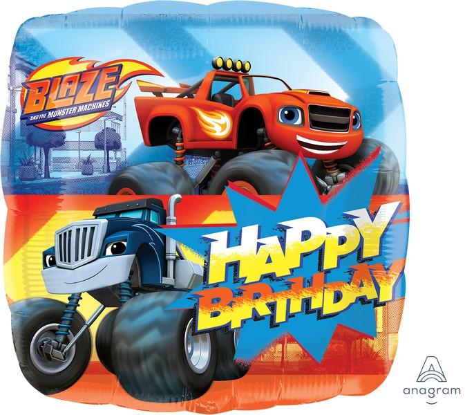 45cm Standard HX Blaze Happy Birthday S60