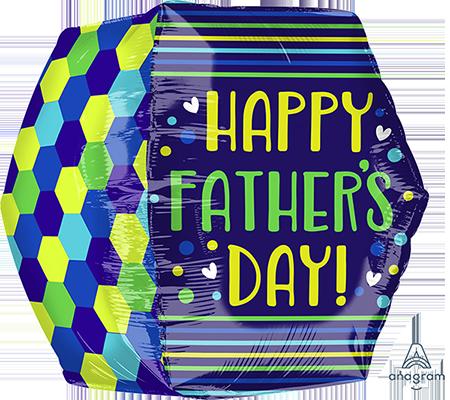 UltraShape Anglez Happy Father's Day Geometric G20