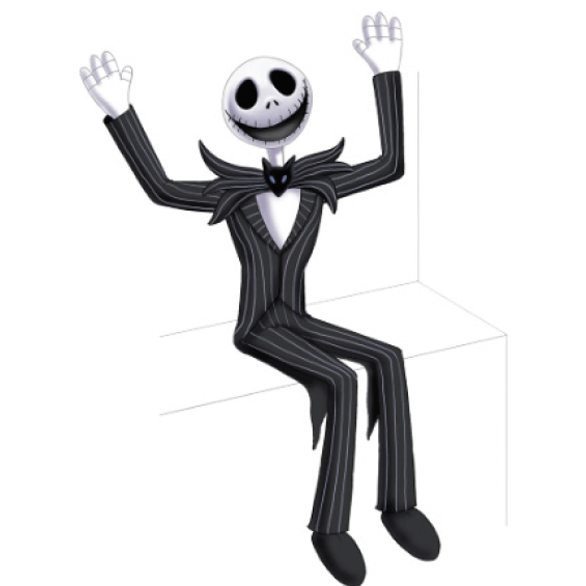 The Nightmare Before Christmas Jack Skellington Posable Sitting Prop 25cm