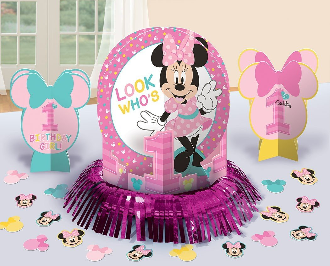 Minnie Fun To Be One Table Decorations Kit