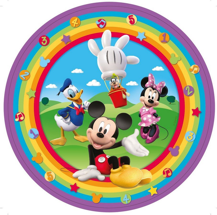 Mickey Mouse Clubhouse 23cm Round Plates