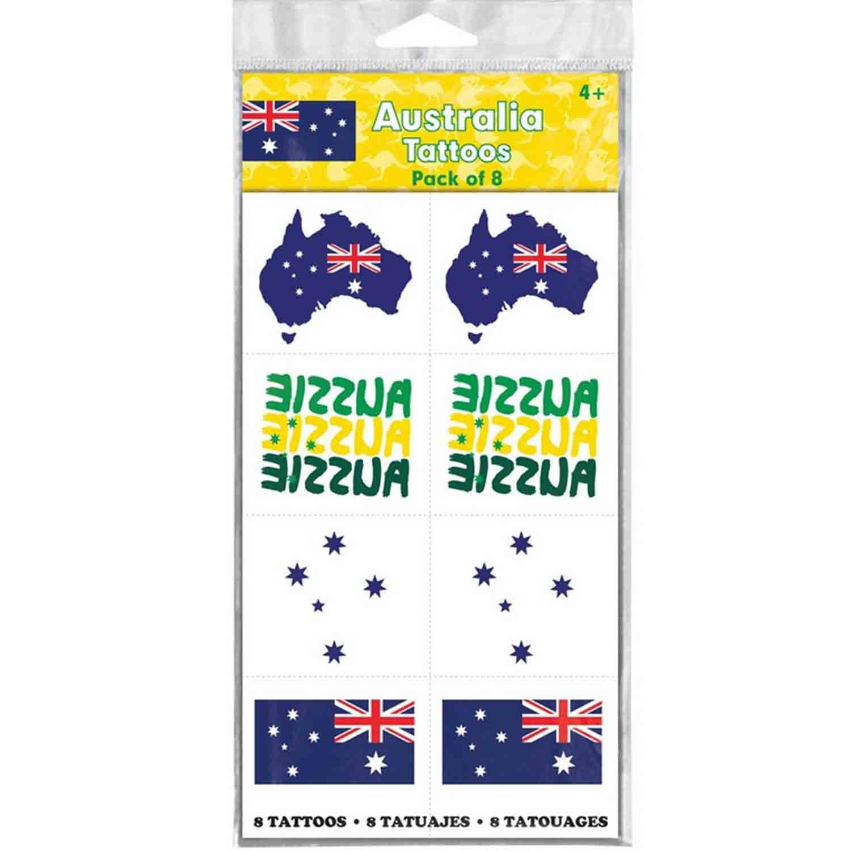 Australia Assorted Tattoos