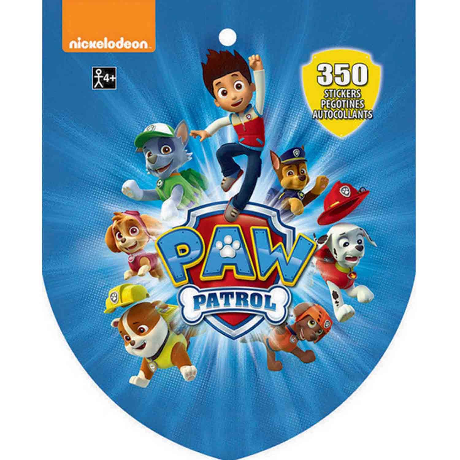 Sticker Book Paw Patrol