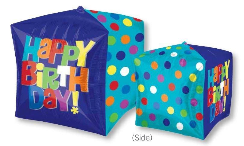 UltraShape Cubez Bright Happy Birthday G20