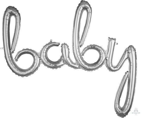 CI: Script Phrase baby Silver G40