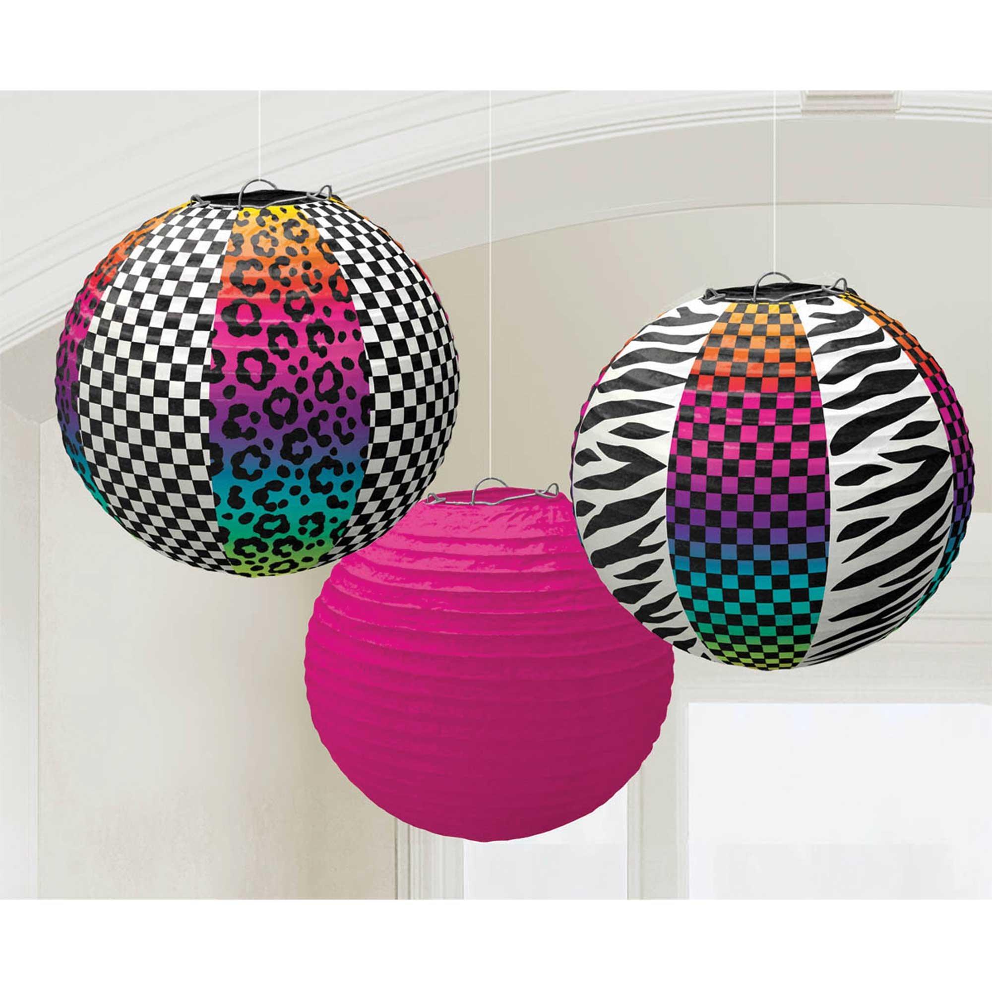 Classic 80's Round Paper Lanterns