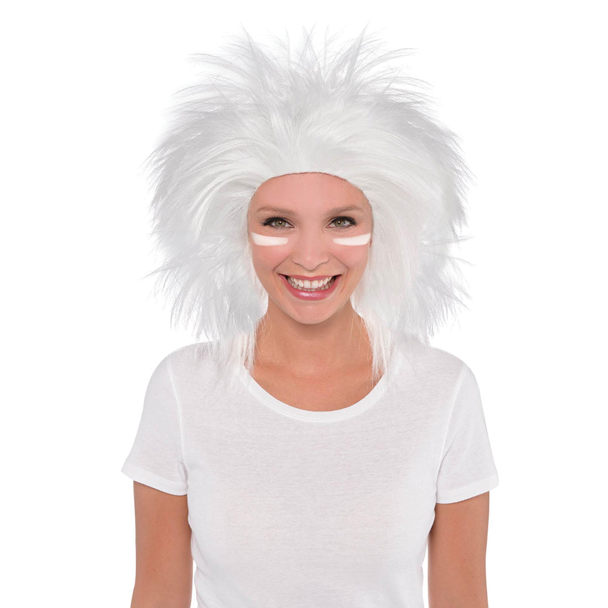 Crazy Wig - White