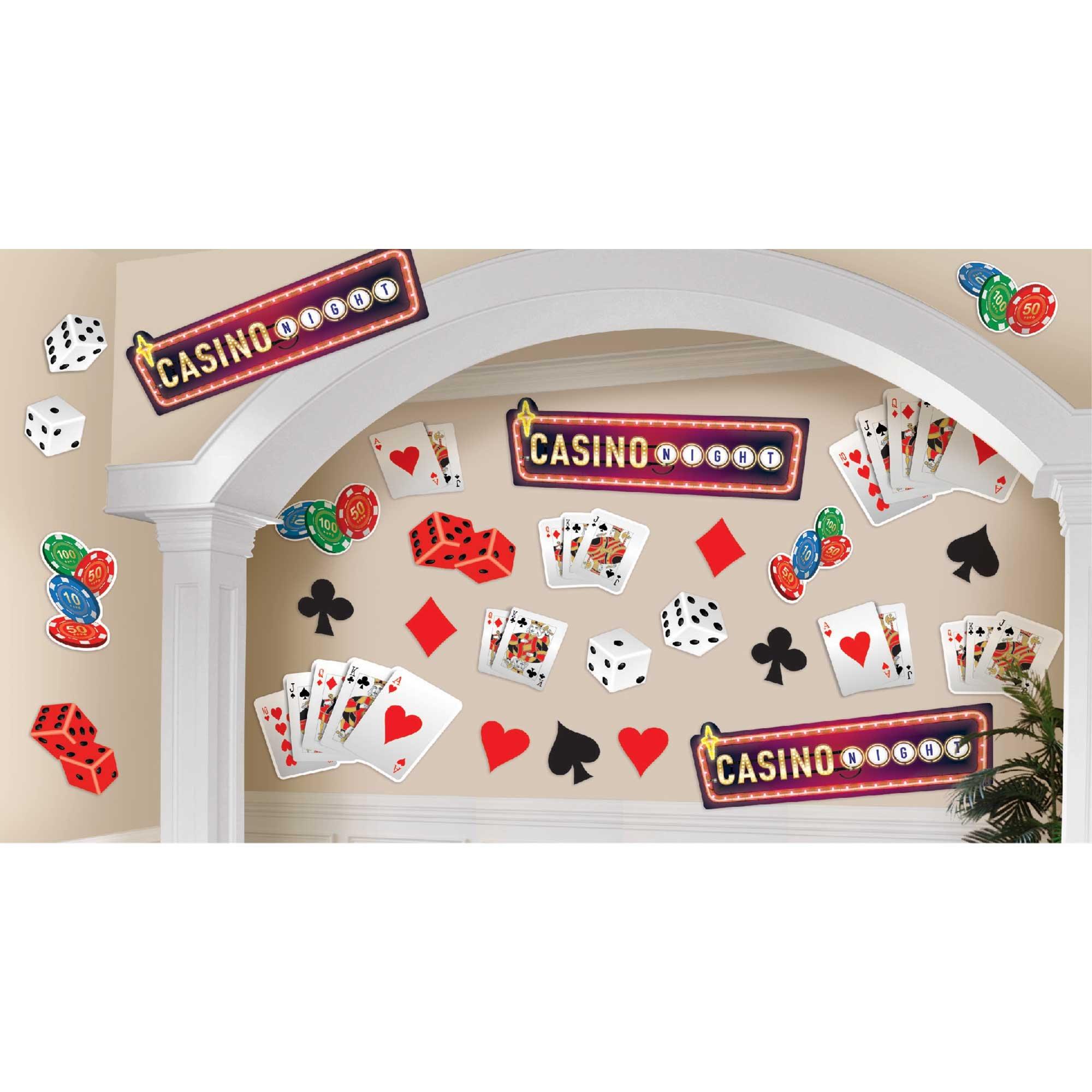 Roll The Dice Casino Cutouts Mega Value Pack
