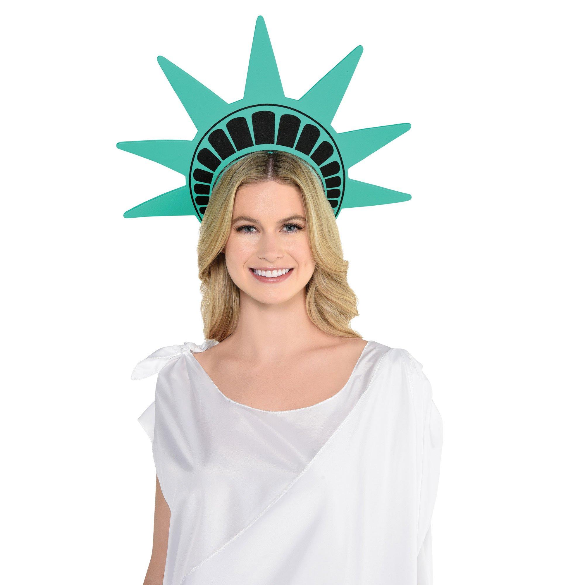 Lady Liberty Statue Foam Crown