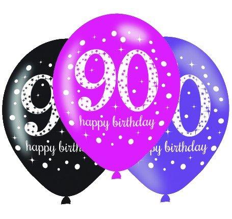 Pink Celebration 90 30cm Latex Balloon
