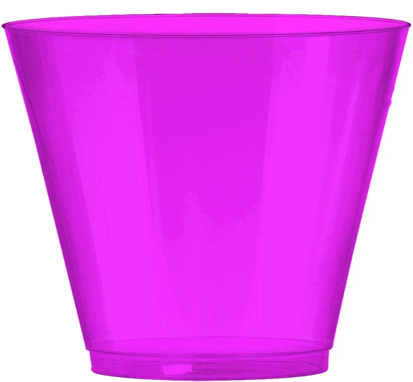 Big Party Pack 266ml Plastic Tumbler Bright Pink