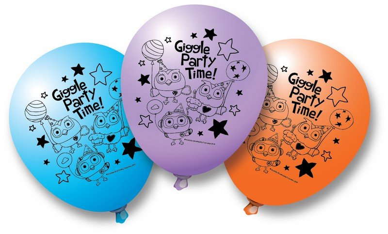 """Giggle and Hoot 12""""/30.4cm Latex Balloons"