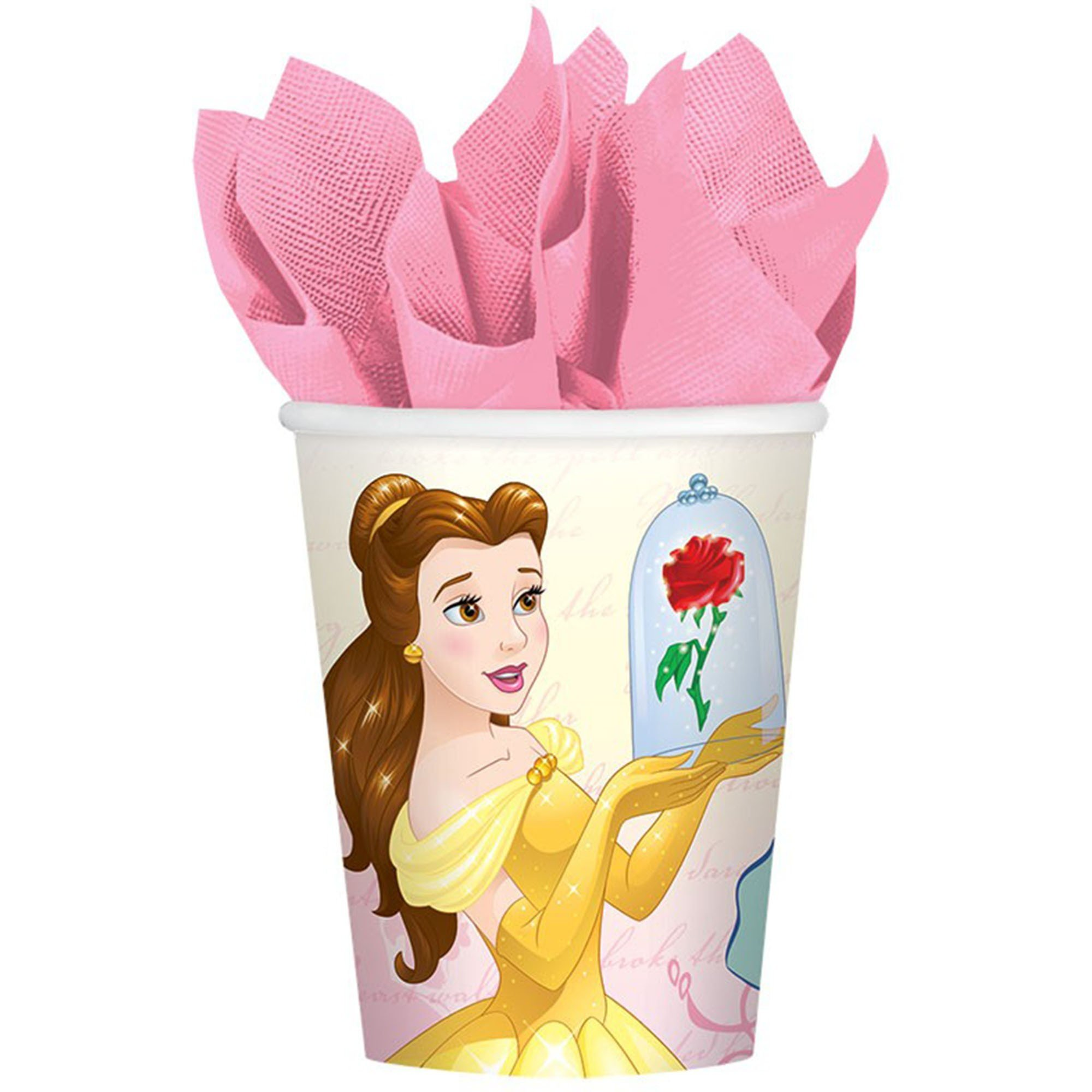 Beauty and the Beast 266ml Cups