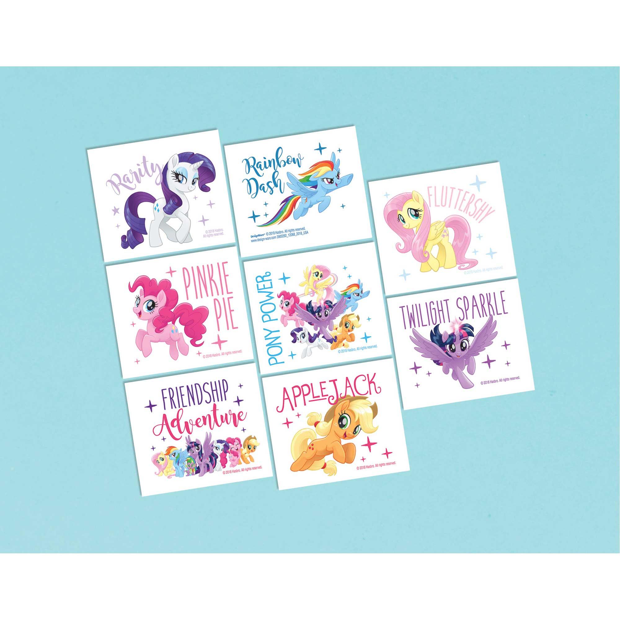 My Little Pony Friendship Adventures Tattoo Favor