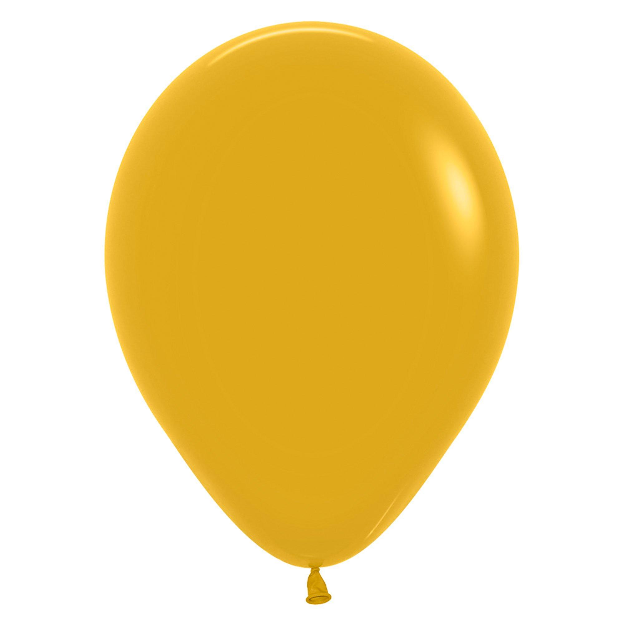 Sempertex 12cm Fashion Mustard 023, 50PK