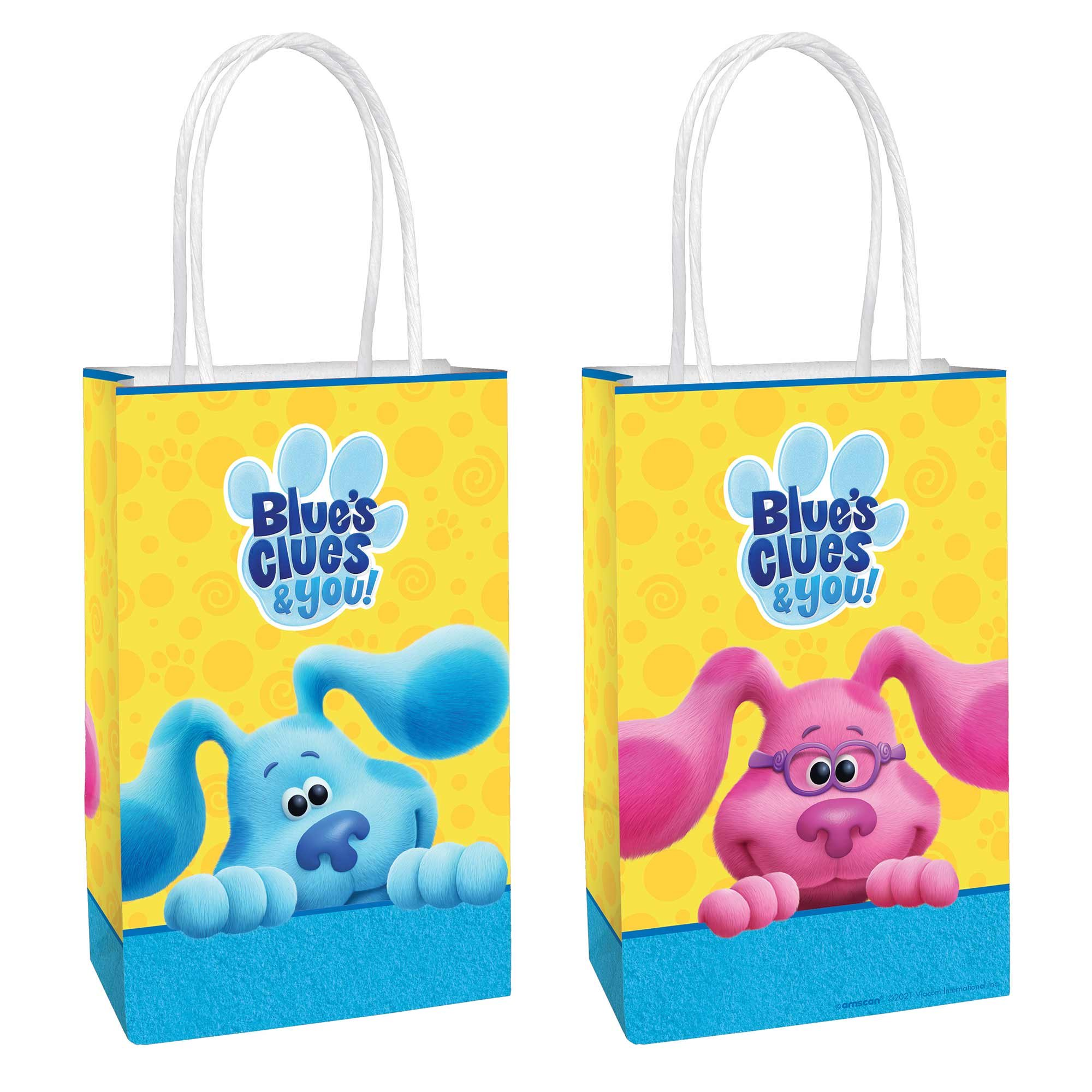 Blue's Clues Paper Kraft Bags