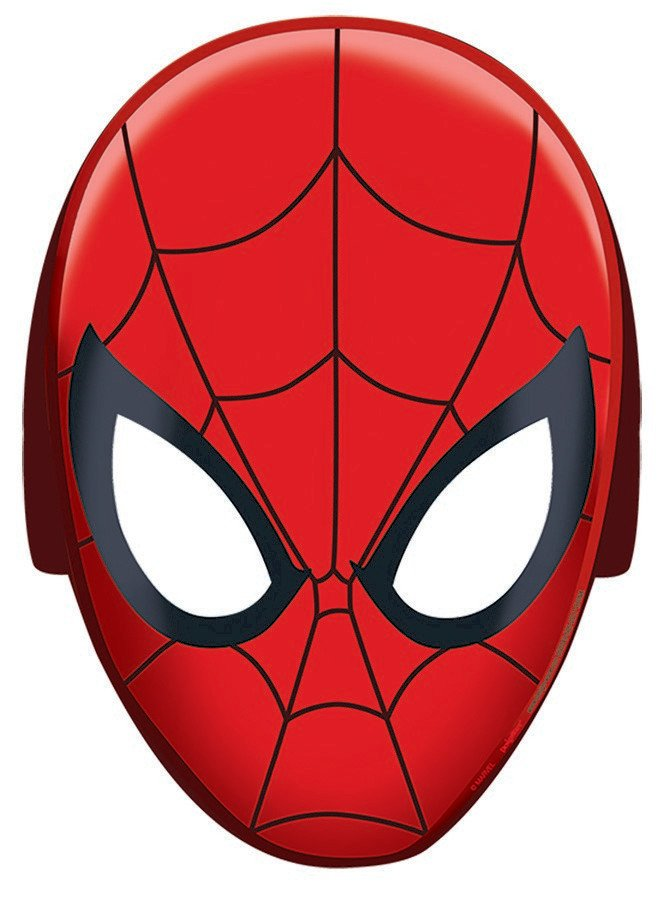 Spider-Man Webbed Wonder Masks - Paper