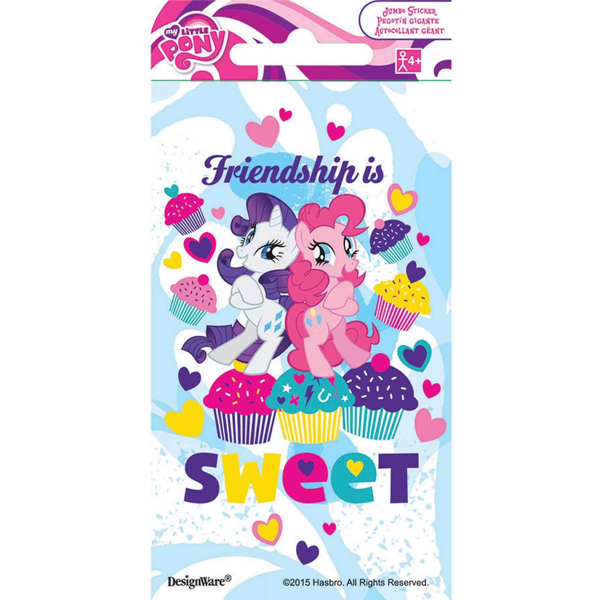 Stickers Jumbo Favor My Little Pony