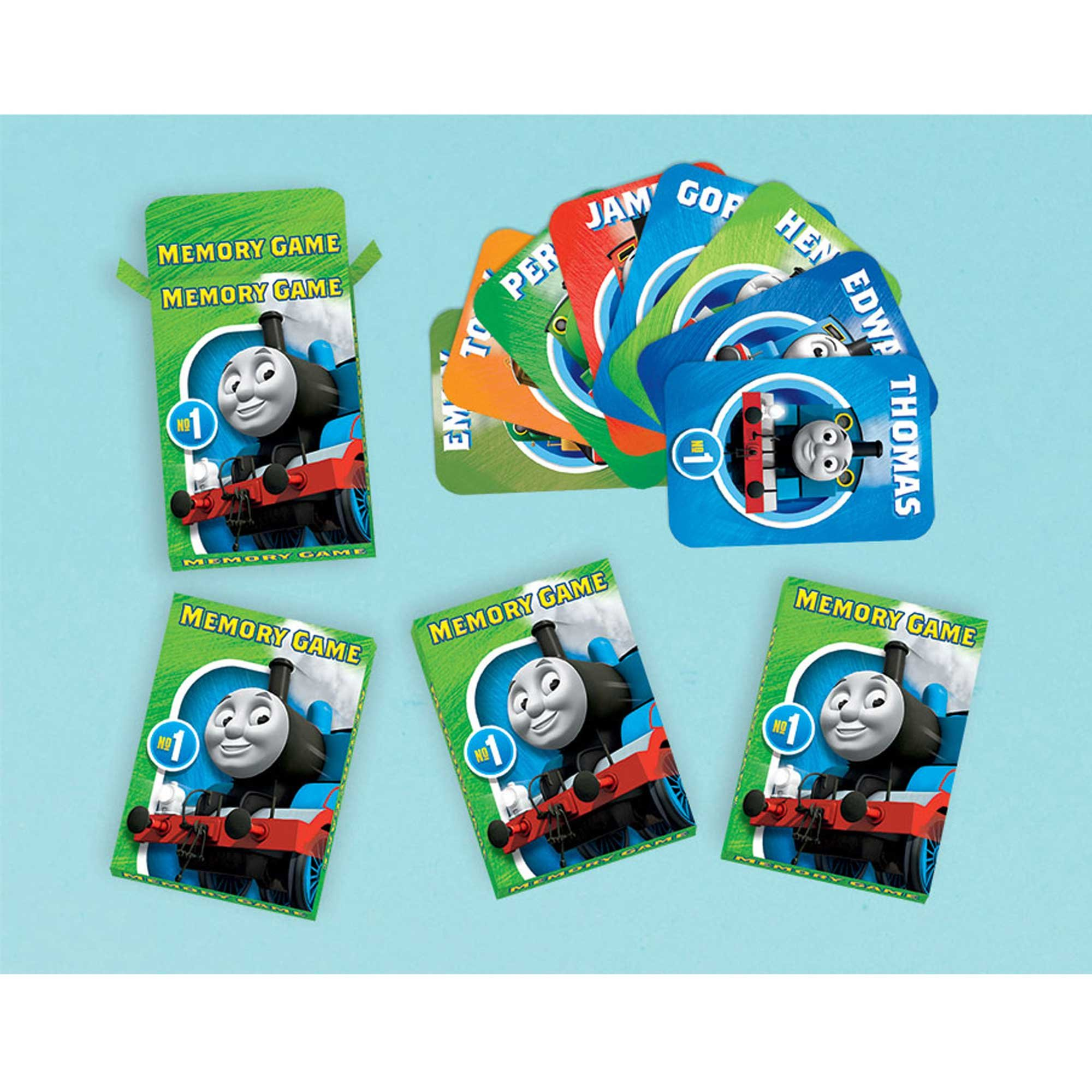 Thomas All Aboard Memory Game Favor