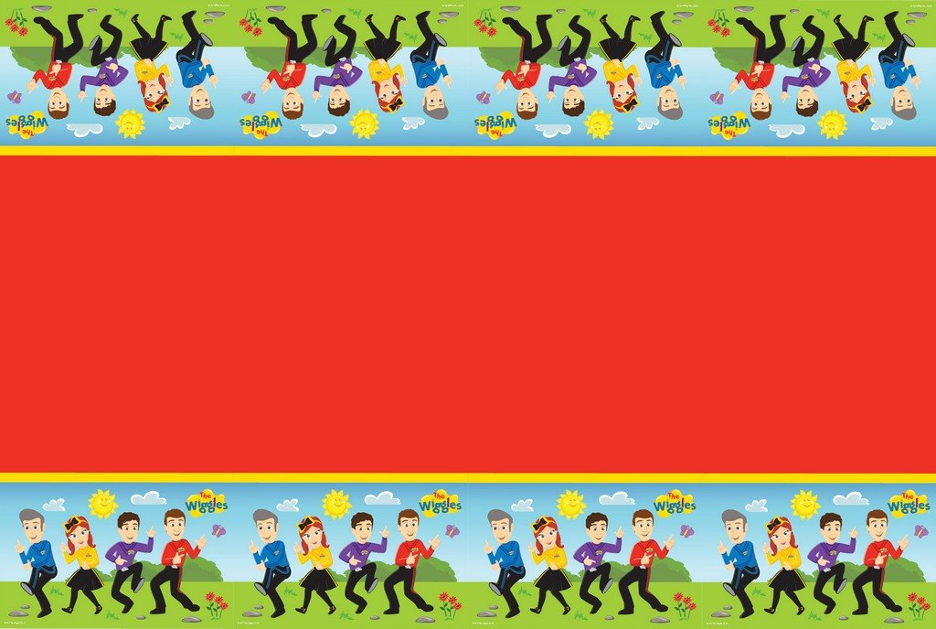 The Wiggles Tablecover Plastic