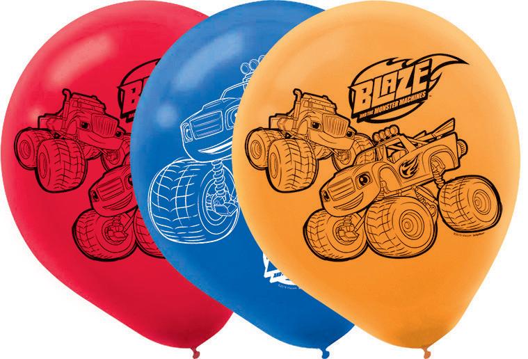 Blaze 30cm Latex Balloons