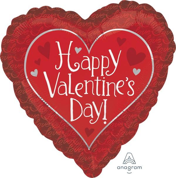 45cm Standard Happy Valentine's Day Hidden Love S40