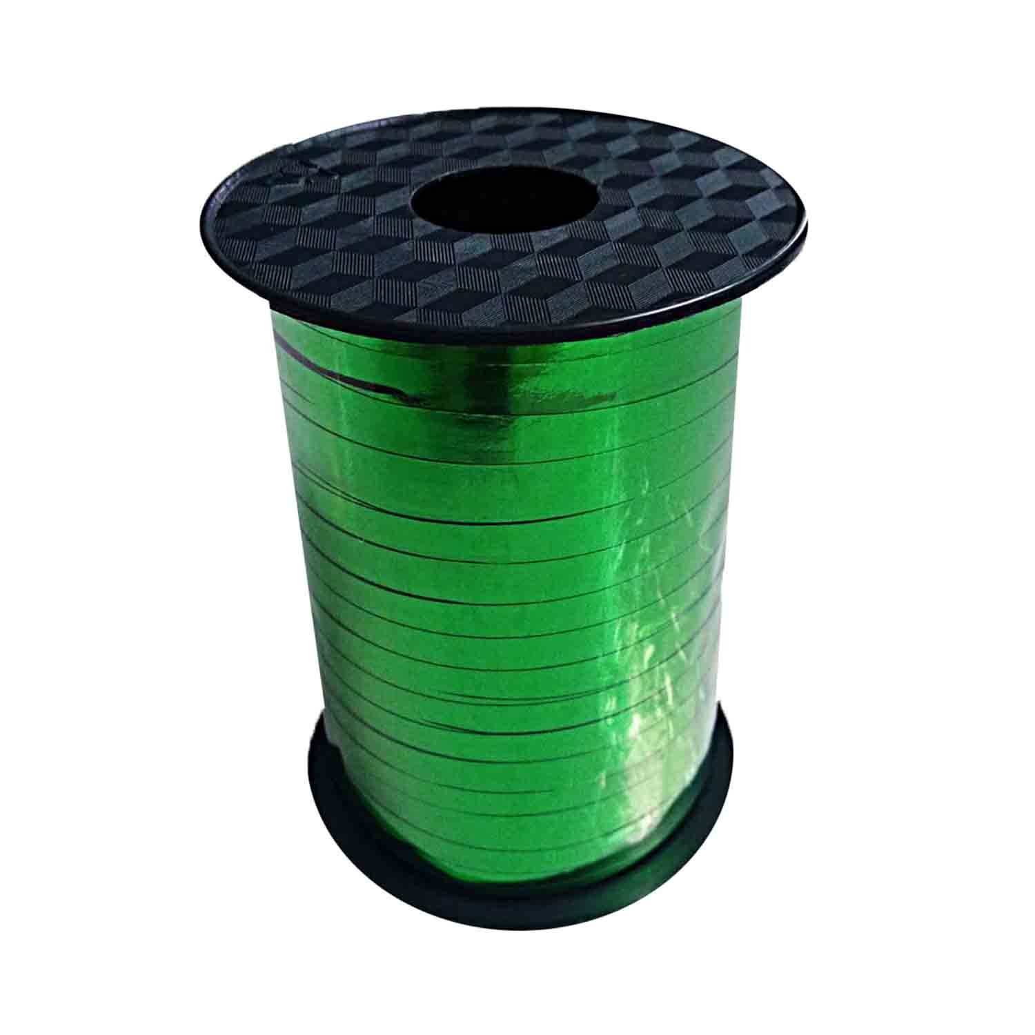Balloon Metallic Ribbon - Green