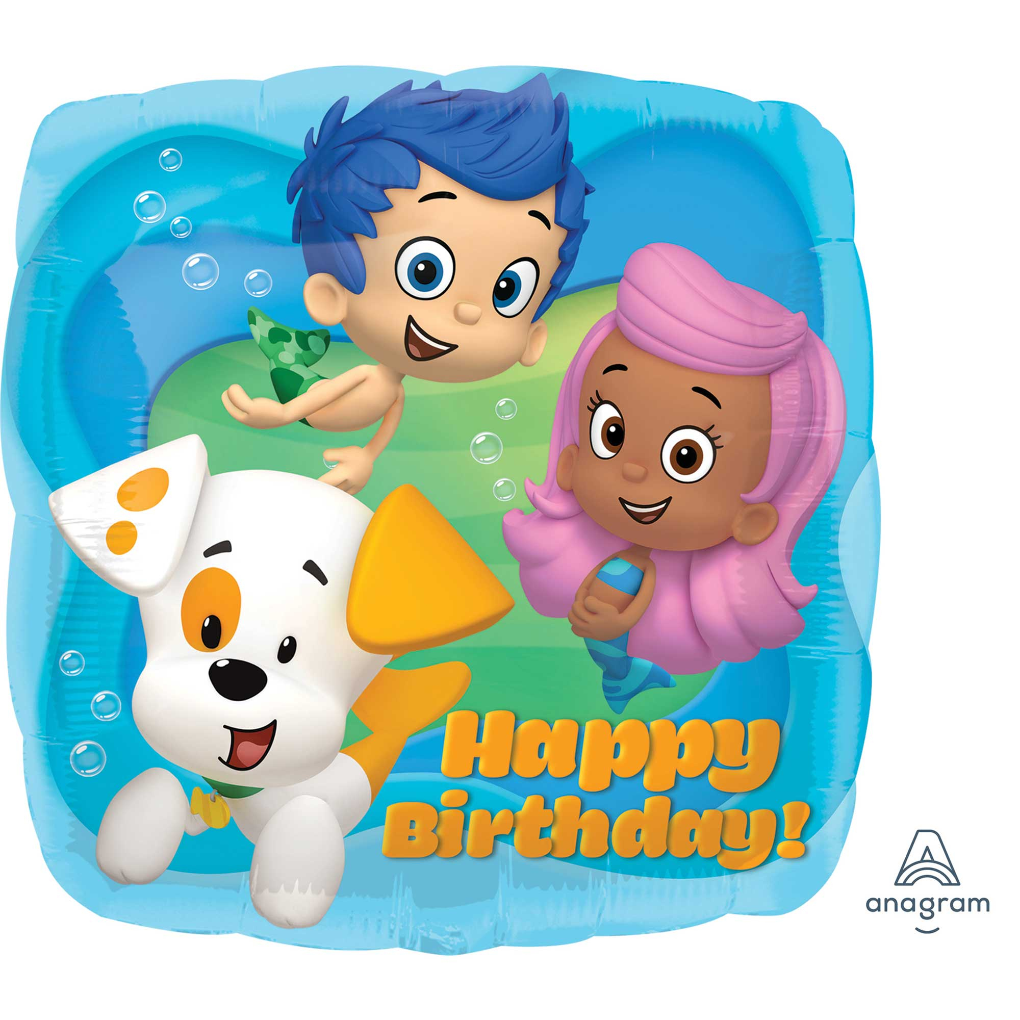 45cm Standard HX Bubble Guppies Happy Birthday S60