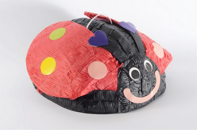 Lady Beetle 3D Shape Pull String Pinata