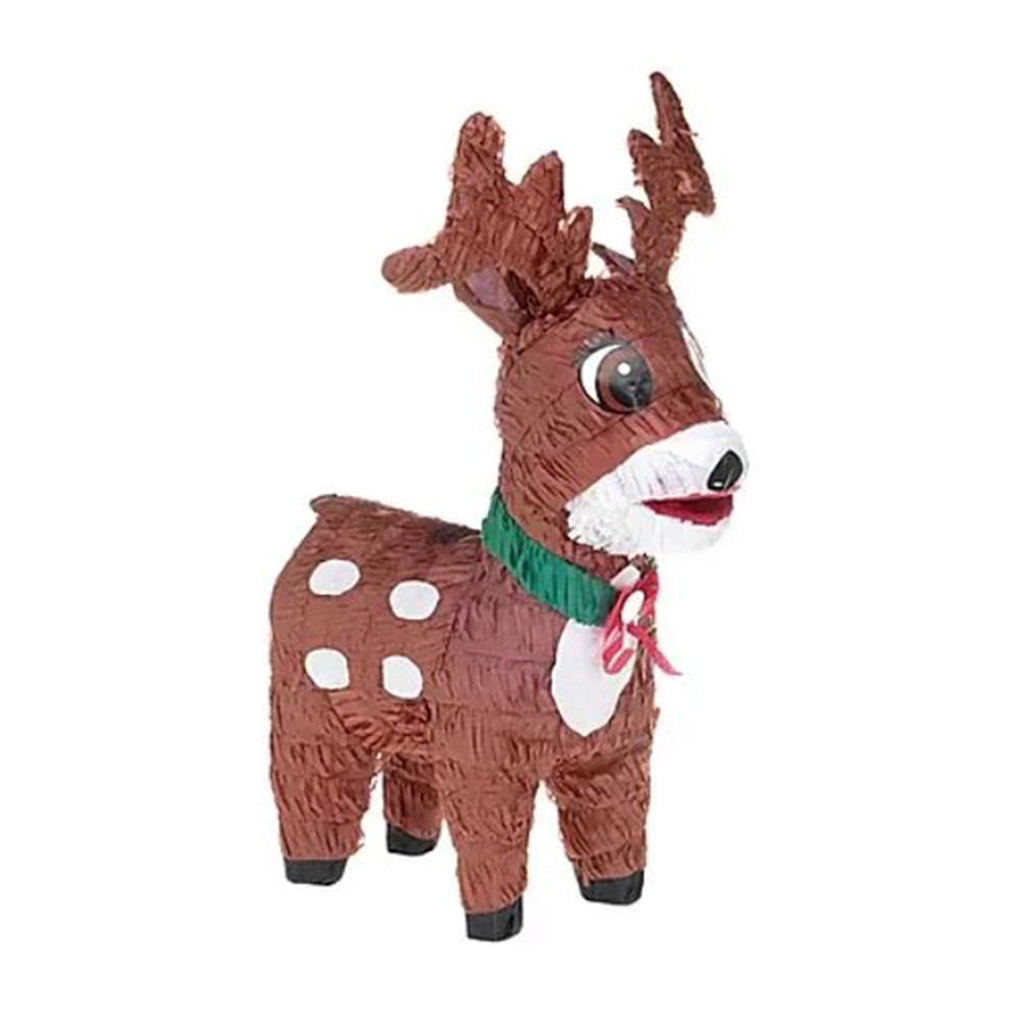 Reindeer 3D Shape Pinata