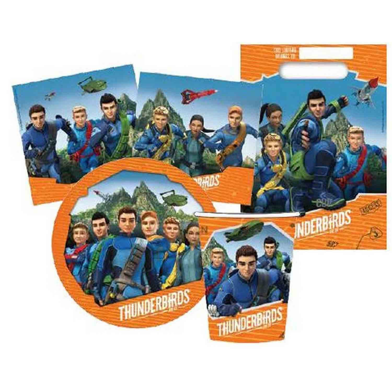 Thunderbirds Party Pack 40pc