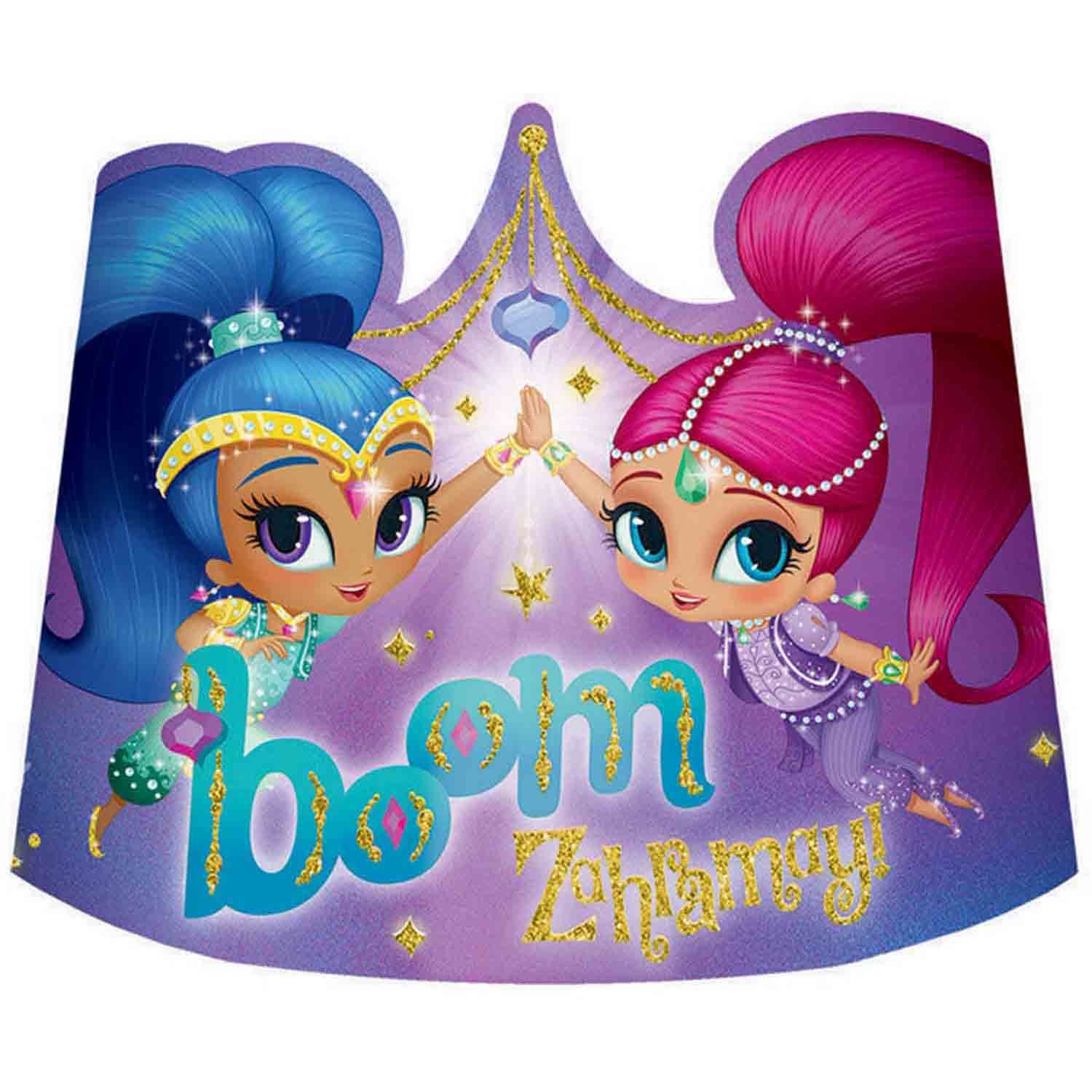 Shimmer and Shine Tiaras Paper